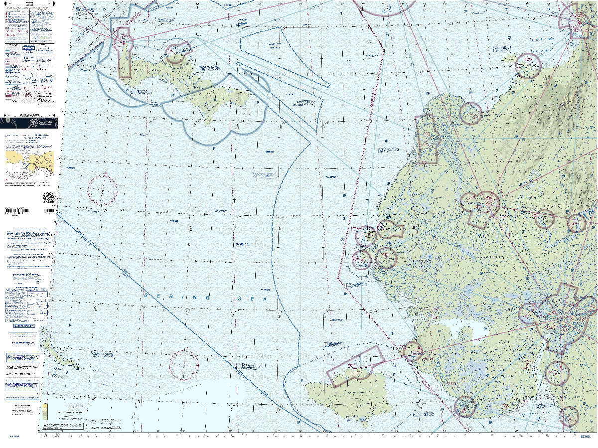 Sectional Charts, VFR Sectionals (Rolled)