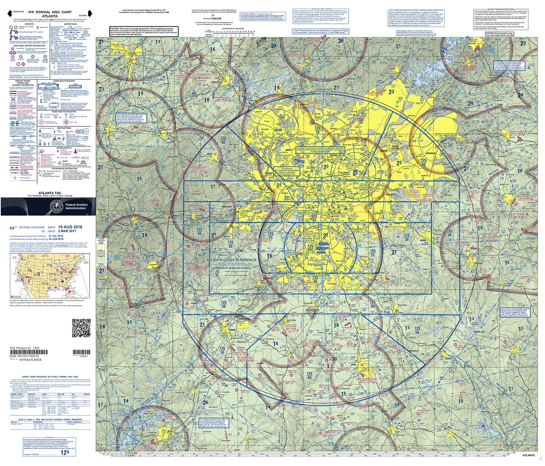 Terminal Area Charts, Terminal Area Charts (Folded)
