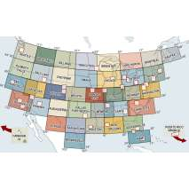 Sectional Charts, VFR Sectionals (Folded)
